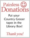 Country Grocer Painless Donations