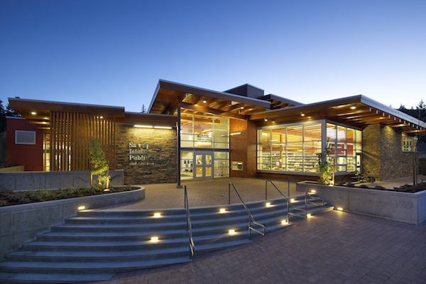 new library building design salt spring island public