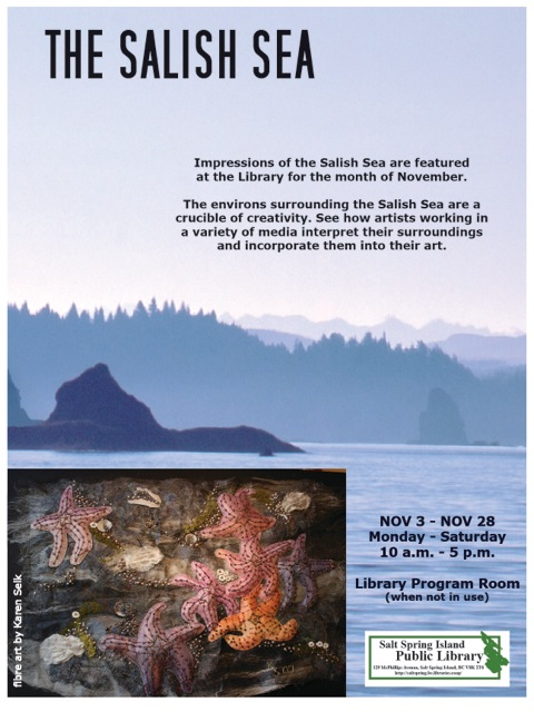 Salish Sea Art Talk - Nov 2014