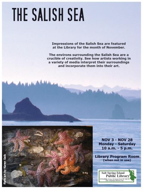 Salish Sea Art Talk - Nov 2014
