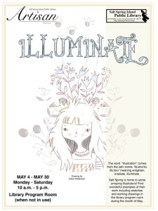 Art Talk - Illuminate May 2015 18 x 24