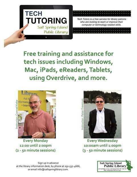 Tech Tutoring with Peter Freeman