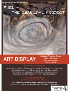 Art Talk - Charcoal Oct 2015 18 x 24