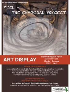 Art Talk - Charcoal Oct 2015 18 x 24