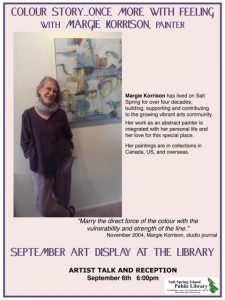 September Art poster Korrison