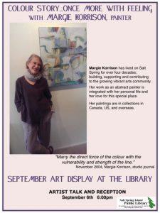September Art poster Korrison