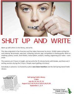 Shut Up And Write 2