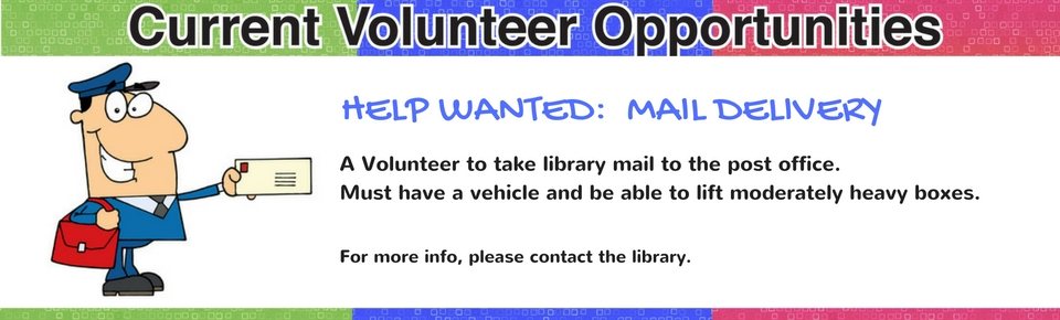 mail delivery volunteer