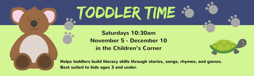toddler time banner