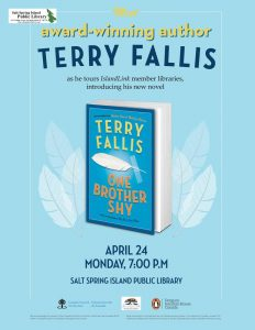 Terry Fallis @ Library Program Room