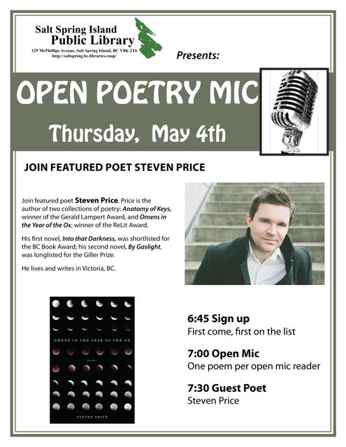 Poetry night - May 2017