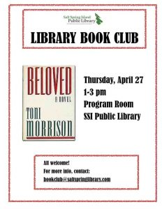 Library Book Club @ Library Program Room