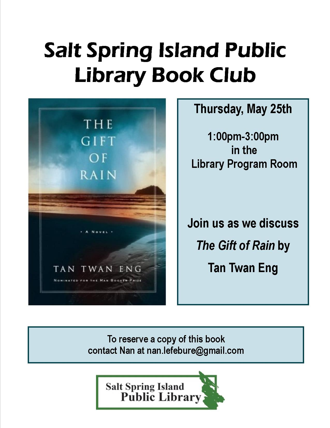 Library Book Club Poster May 2017v2