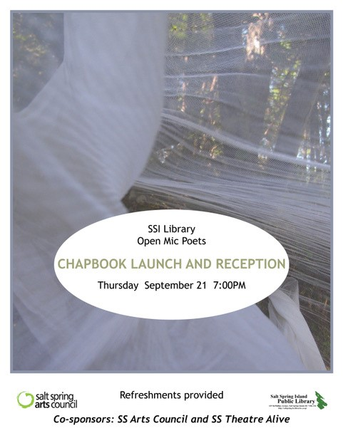 Poetry Chapbook Launch Sept 2017