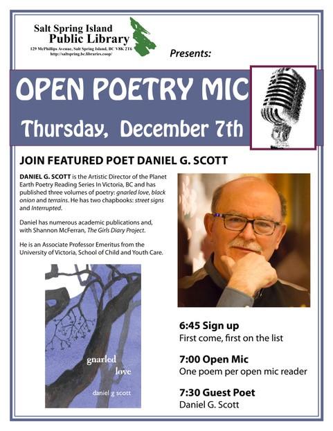 Poetry night - December 2017