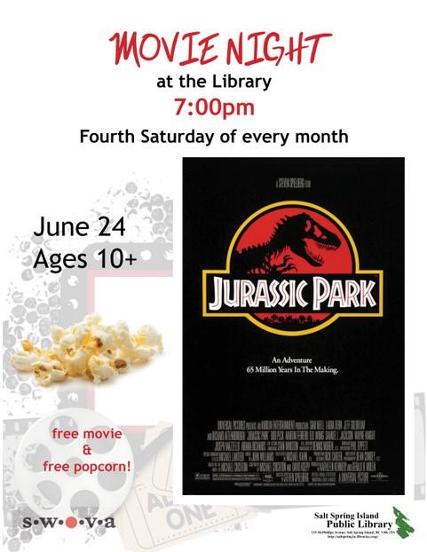 Movie Night @ Library Program Room