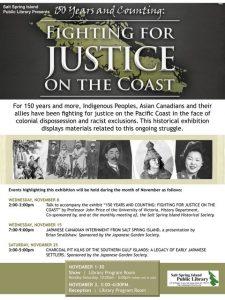 Art Talk - Fighting for Justice Nov 2017