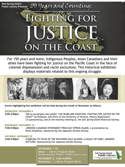 150 Years and Counting: Fighting for Justice on the Coast @ Library Program Room