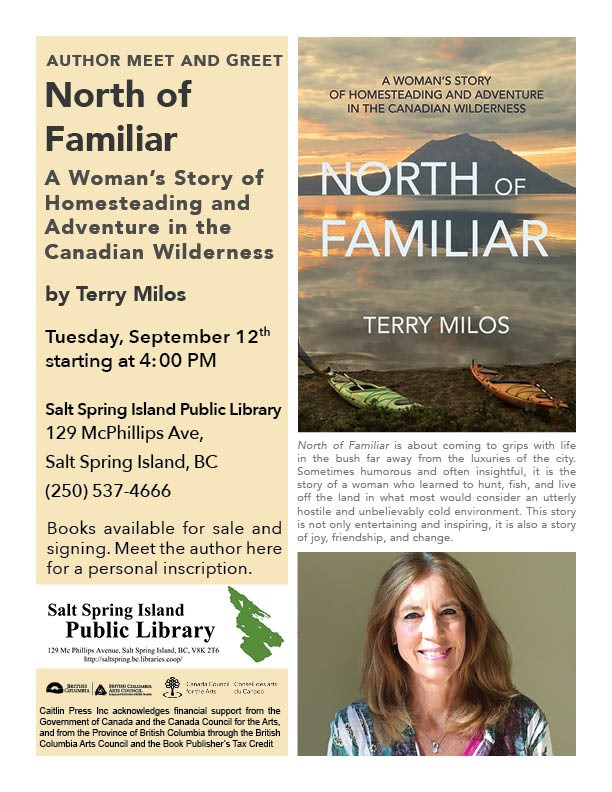Terry Milos @ Library Program Room