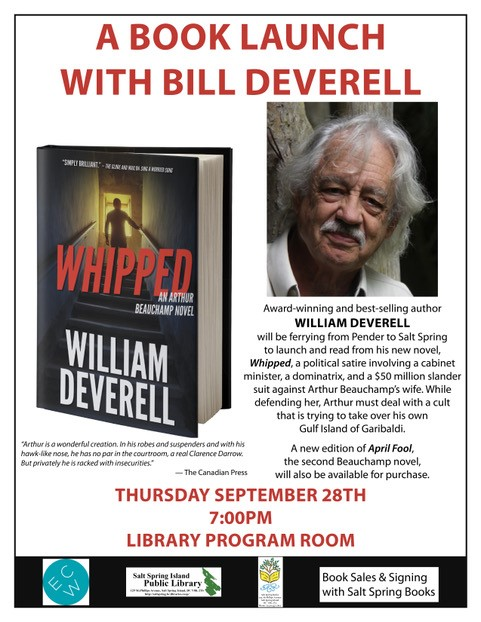William Deverell Sept 2017
