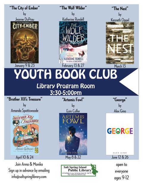 Youth book club 2018