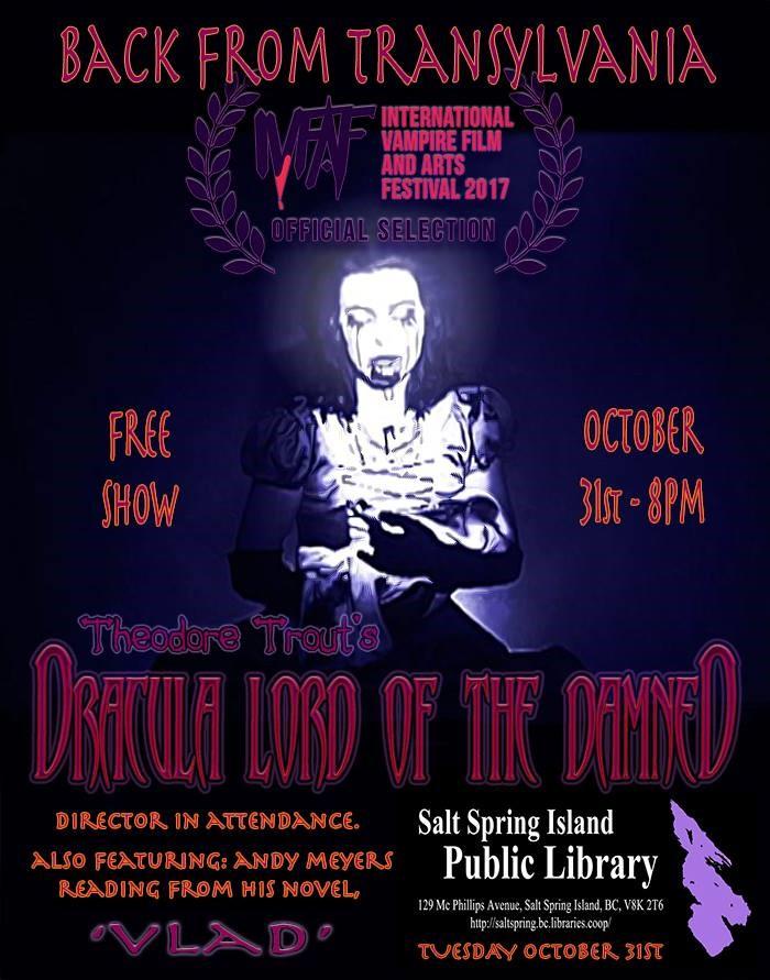 Dracula @ Library Program Room