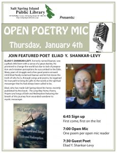 Poetry Open Mic @ Library Program Room