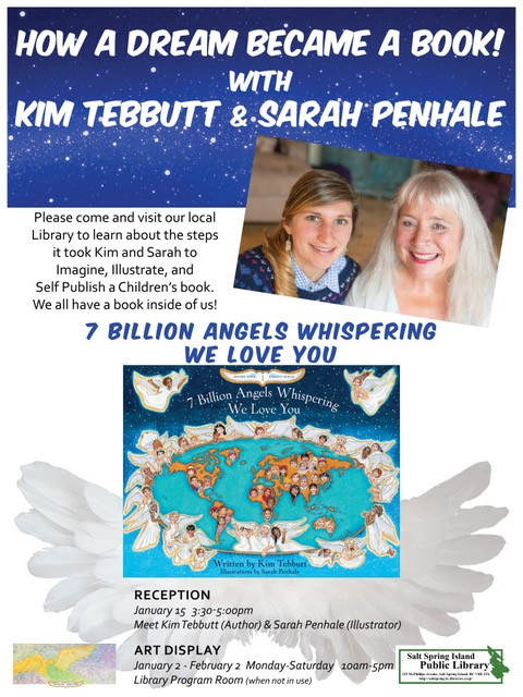 Kim Tebbutt & Sarah Penhale @ Library Program Room