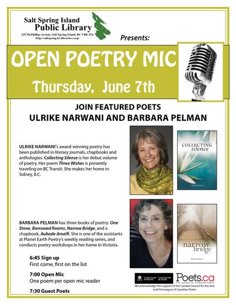 Poetry night - June 2018