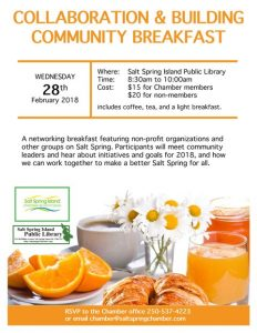Collaboration and Building Community Breakfast @ Library Program Room