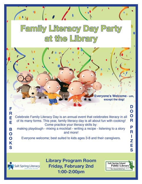 Family Literacy Day @ Library Program Room