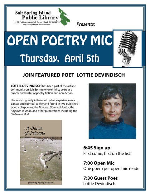 Poetry night - April 2018