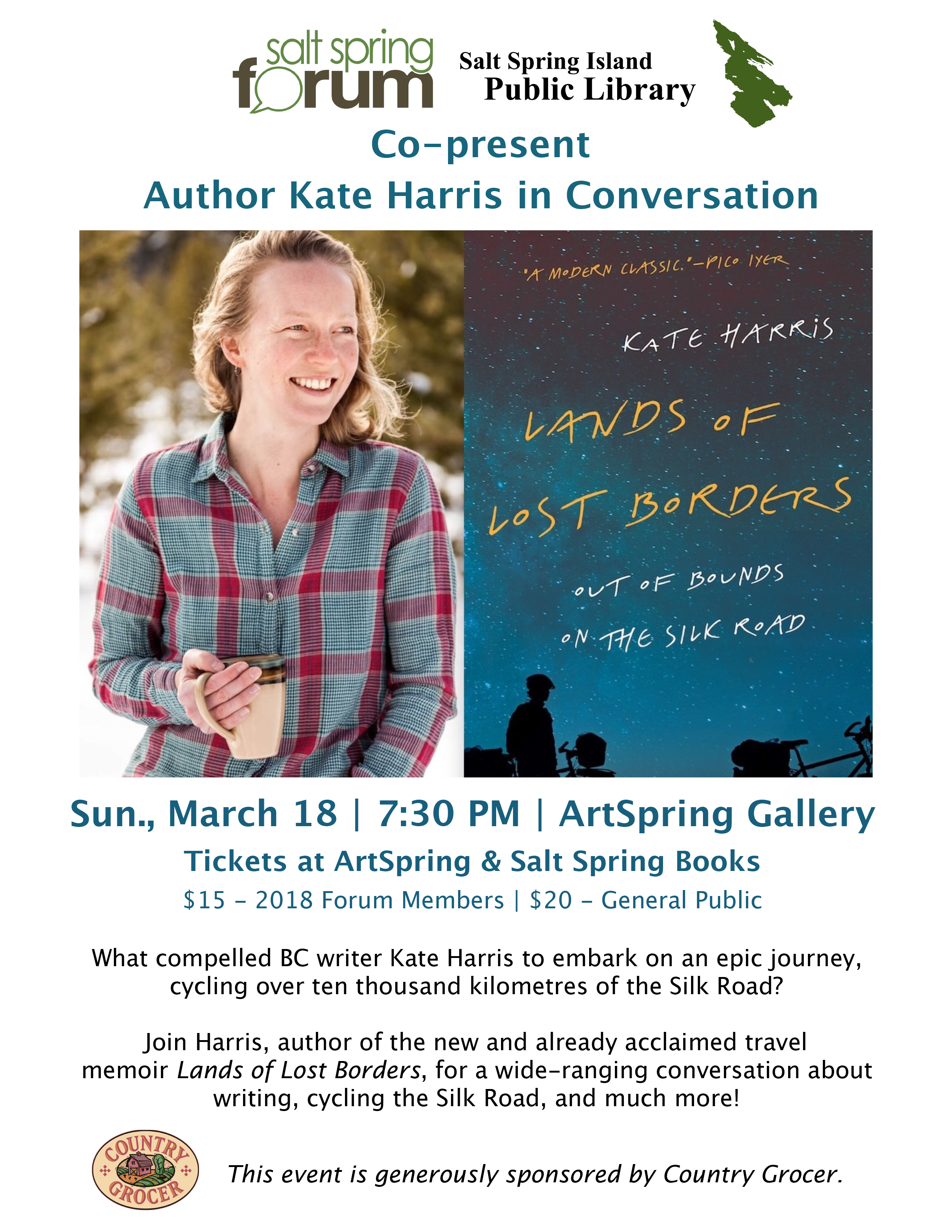 Kate Harris - Lands of Lost Borders