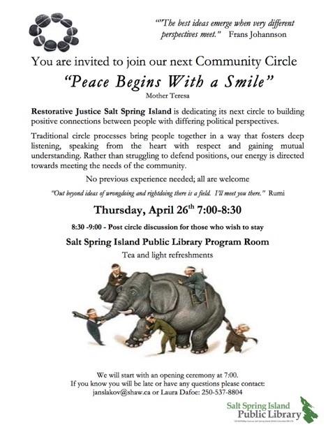 circle April 26