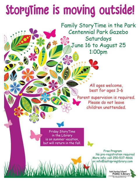 StoryTime in the Park 2018