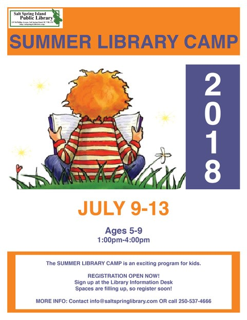 summer library camp