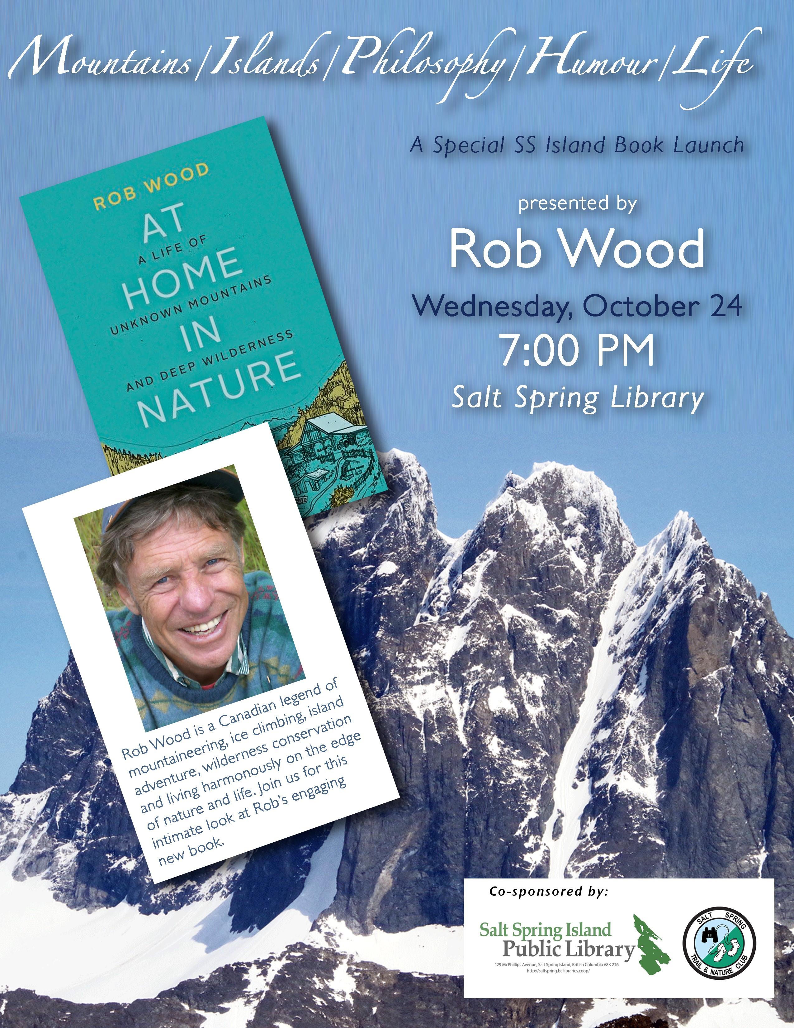 Rob Wood @ Community Program Room