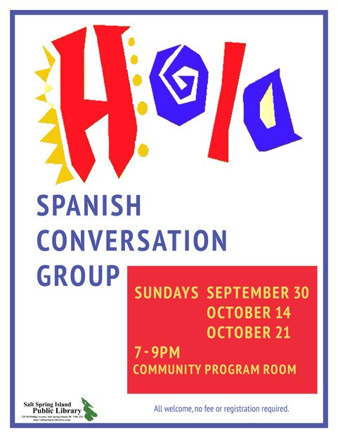 Spanish Conversation Group 2018