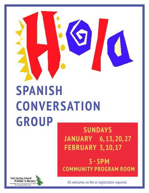 Spanish Conversation Group @ Community Program Room
