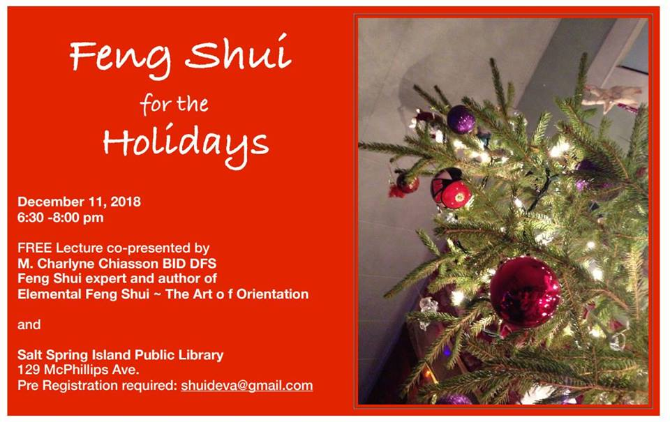 Feng Shui for the Holidays @ Community Program Room
