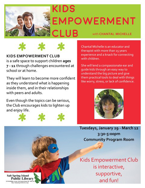Kids Empowerment Club @ Community Program Room