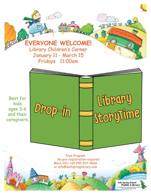 StoryTime @ Library Children's Corner