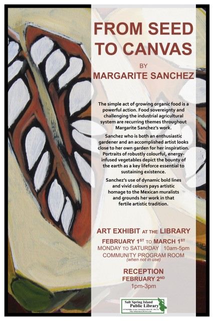 Margarite Sanchez @ Library Community Program Room