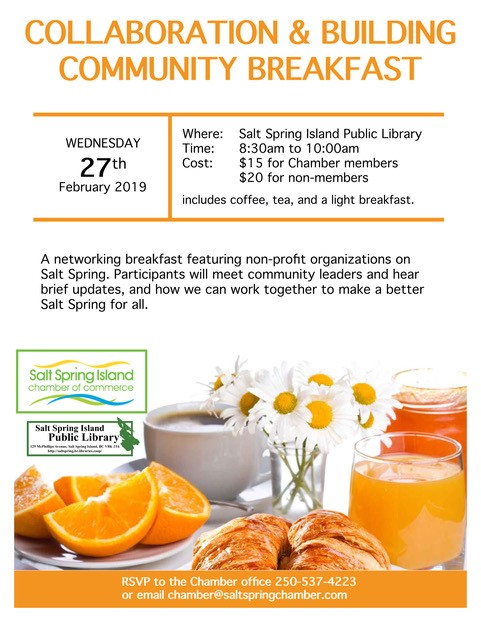 Collaboration and Building Community Breakfast @ Community Program Room