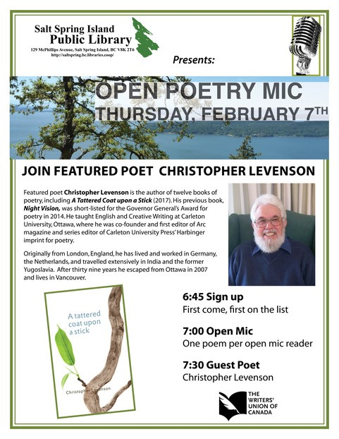 Poetry Open Mic @ Community Program Room