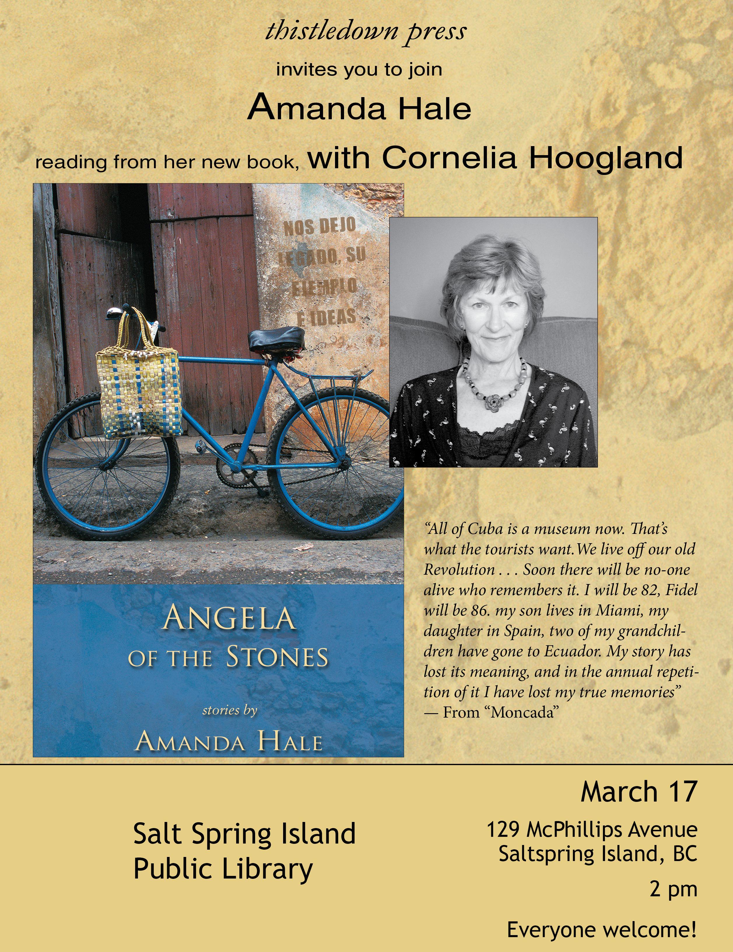 Amanda Hale event