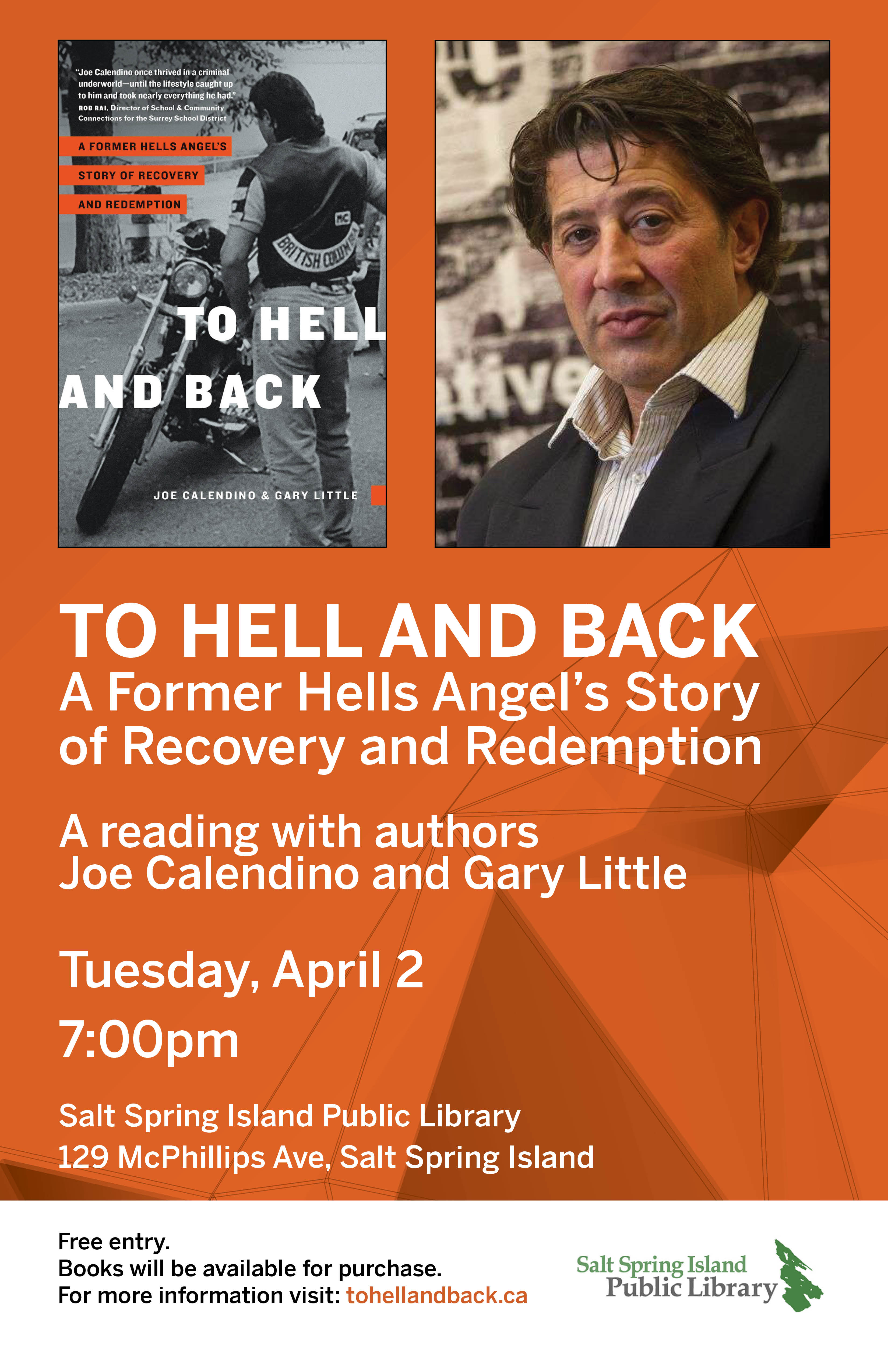 To Hell and Back @ Community Program Room