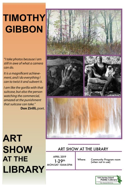 Art Events at the Library | Salt Spring Island Public Library