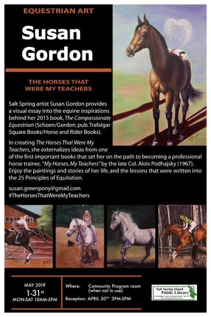 Art Exhibit: Susan Gordon @ Community Program Room
