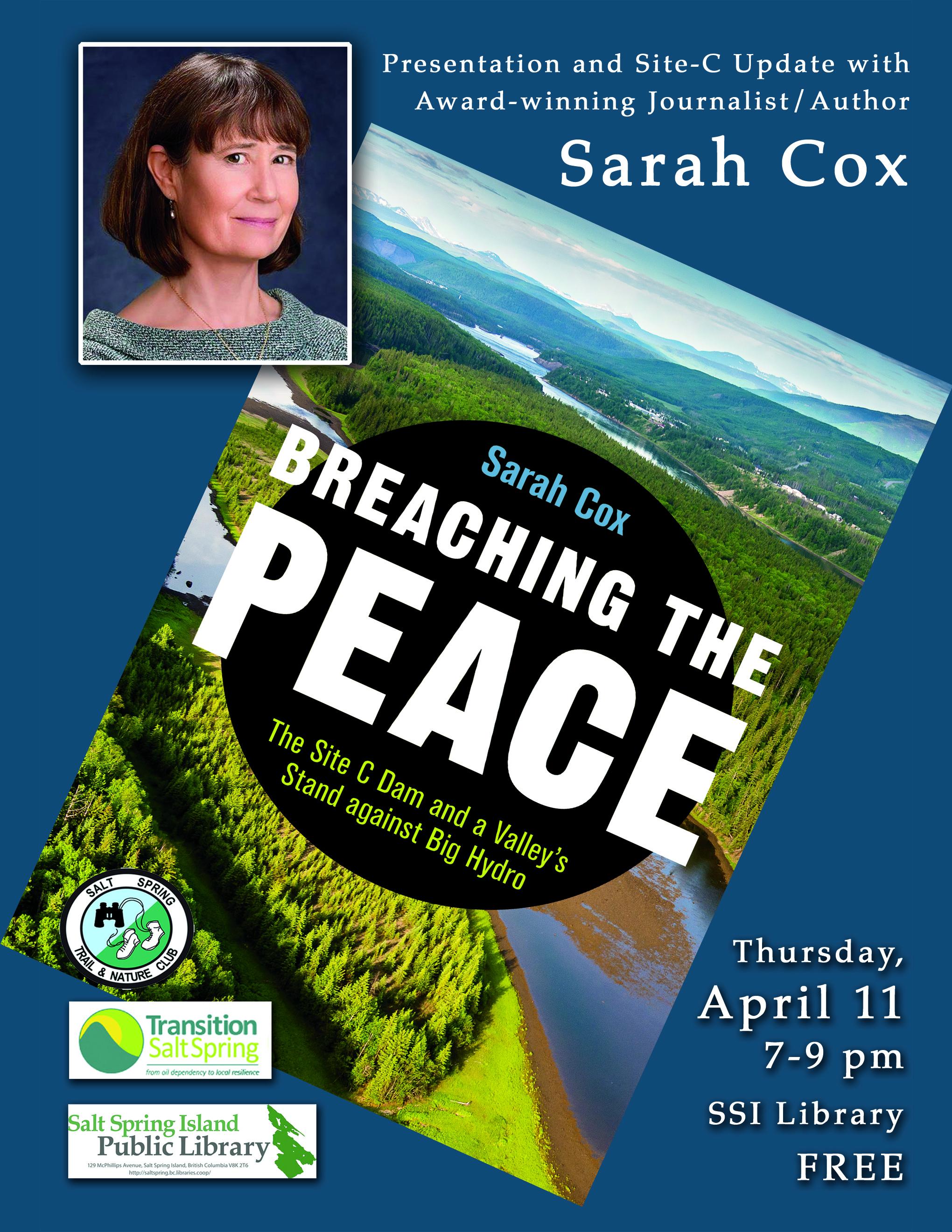 Sarah Cox @ Community Program Room
